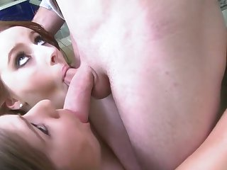 Romeo Price bangs Brunette Felicia Clover as hard as possible in hardcore sex action