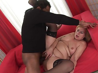 Blonde makes her sex dreams a come true
