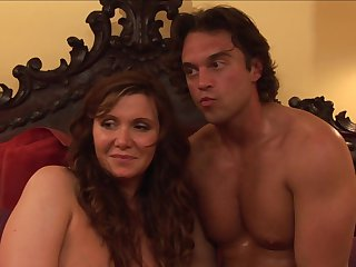 Brunette Nica Noelle and Rocco Reed are two sex addicts that make each other happy in hardcore sex action