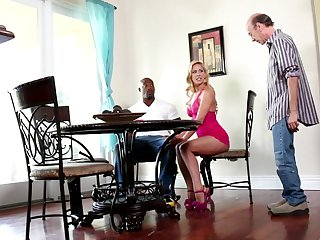 Will Powers touches the hottest parts of warm Julia Ann's body before he penetrates her love tunnel