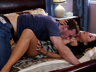 Erik Everhard attacks shameless Asa Akira'S mouth with his love torpedo
