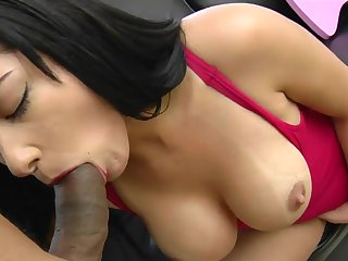 Big titty latina Mikaella loves Brazilian cock