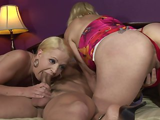 Milf Anita Blue needs nothing but her man's hard boner in her mouth to get orgasm